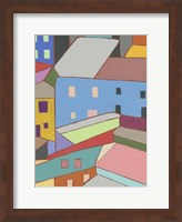 Rooftops in Color I Fine-Art Print