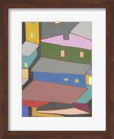 Rooftops in Color IV Fine-Art Print