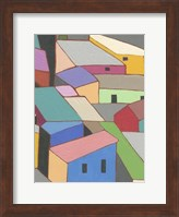 Rooftops in Color VII Fine-Art Print