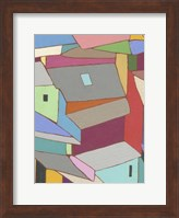 Rooftops in Color XI Fine-Art Print
