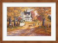 Autumn Leaves And Laughter Fine-Art Print