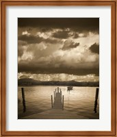 Sunset at the Pier, Pentwater, Michigan 10 Fine-Art Print
