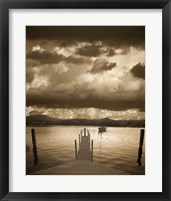 Sunset at the Pier, Pentwater, Michigan 10 Fine-Art Print