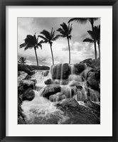 Hawaiian Falls, Big Island Fine-Art Print