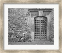 Bicycle & Door, Yverdon, Switzerland 04 Fine-Art Print