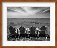 Four Chairs, Newport, Rhode Island 03 Fine-Art Print