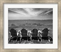 Four Chairs, Newport, Rhode Island 03 Fine-Art Print