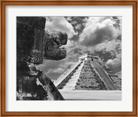 The Serpent And The Pyramid, Chechinitza, Mexico 02 Fine-Art Print