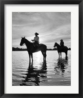 Riding At Sunset, Rothbury, Michigan 03 Fine-Art Print