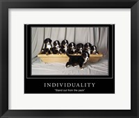 Individuality Motivational Fine-Art Print