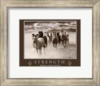 Strength Motivational Fine-Art Print