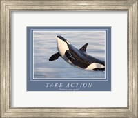 Take Action Motivational Fine-Art Print