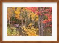 Boathouse In Autumn, Marquette, Michigan 12 Fine-Art Print
