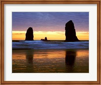 Canyon Beach Sunset, Cannon Beach, Oregon 02 Fine-Art Print