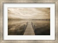 Dock at Crooked Lake, Conway, Michigan 09 Fine-Art Print