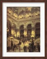 Le Couloir de L'Opera Fine-Art Print