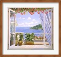 Finestra sul Mare Fine-Art Print