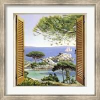 Finestra sul Mediterraneo Fine-Art Print