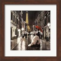Kissing in Paris (Detail) Fine-Art Print