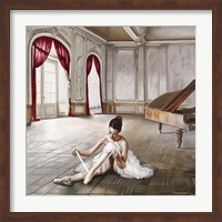 Preparing for Dance Fine-Art Print