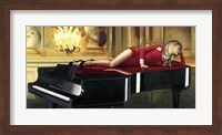Piano Lady Fine-Art Print