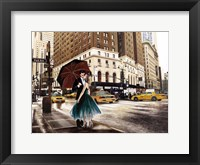 Kiss in Park Avenue Fine-Art Print