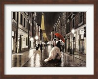 Kissing in Paris Fine-Art Print