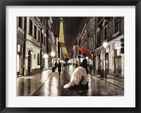 Kissing in Paris Fine-Art Print