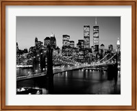 Brooklyn Bridge, NYC BW Fine-Art Print