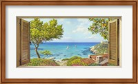 Finestra sul Mare II Fine-Art Print