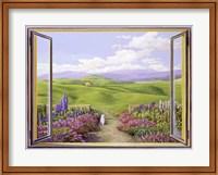Paesaggio Toscano Fine-Art Print
