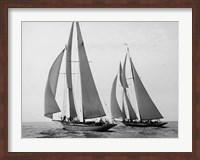 Sailboats Race during Yacht Club Cruise Fine-Art Print