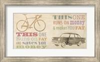 Bike vs Car Fine-Art Print