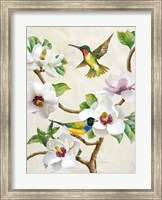 Magnolia and Birds Fine-Art Print