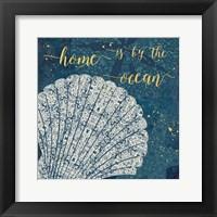 Coastal Lace III Fine-Art Print