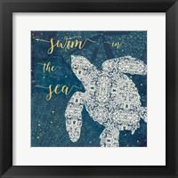 Coastal Lace VI Fine-Art Print