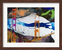 San Francisco Bridge Abstract I Fine-Art Print