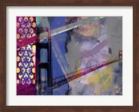 San Francisco Bridge Abstract II Fine-Art Print