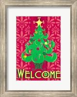 Christmas Tree Welcome Fine-Art Print