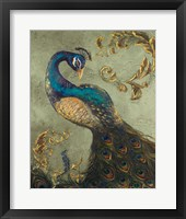 Peacock on Sage II Fine-Art Print