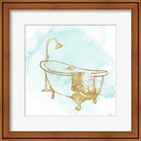 Le Tub on Teal I Fine-Art Print