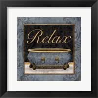 Relaxing Bath Fine-Art Print