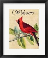 Cardinal Welcome Fine-Art Print