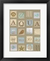 Aqua Tiles Fine-Art Print