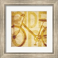 Bike Canvas 2 Fine-Art Print