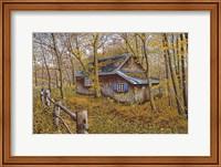 Cabin In The Woods Fine-Art Print