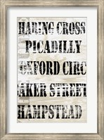 Over and Under London Transit Fine-Art Print