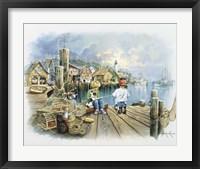 Fishing Dock C Fine-Art Print