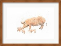 Pig and Piglet Fine-Art Print