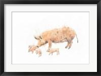 Pig and Piglet Fine-Art Print